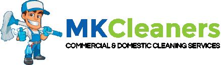 MK Cleaners Logo