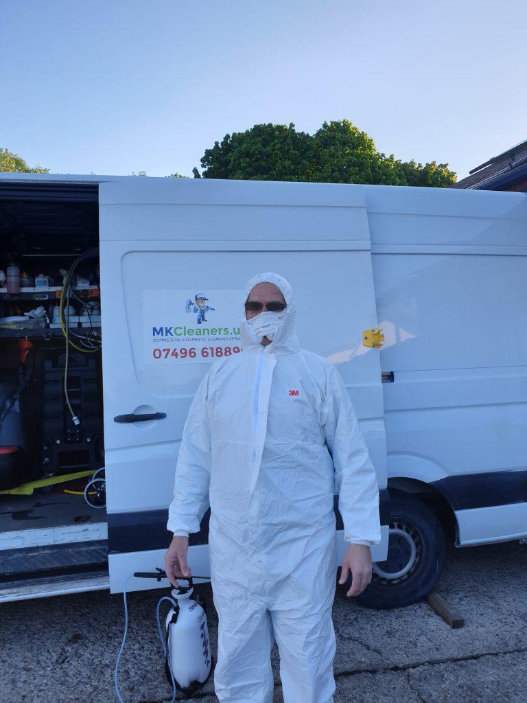 Coronavirus Professional Cleaner